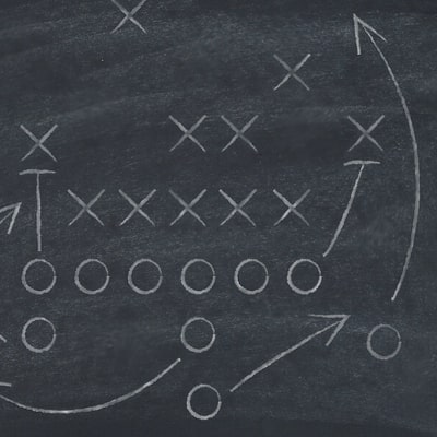 graphic of a game plan