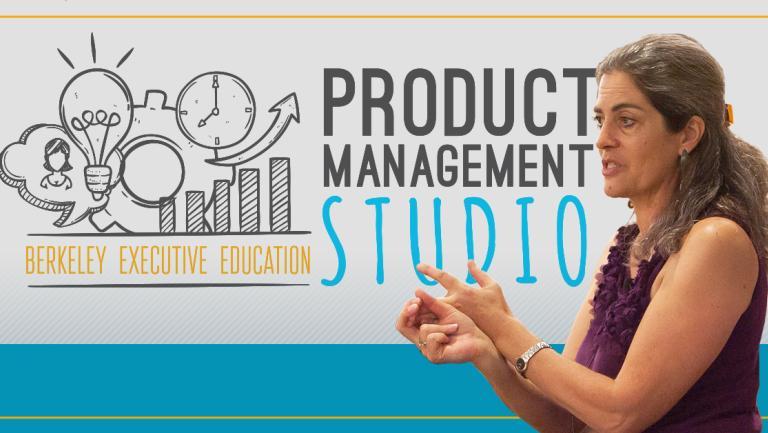 Sara Beckman teaching over Product Management Studio promo