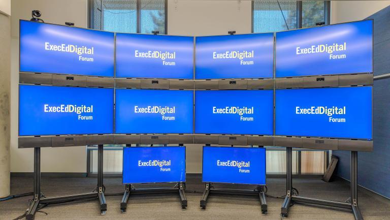 Forum (Berkeley ExecEd Online Platform) screens
