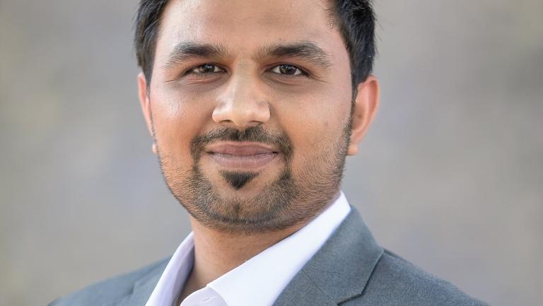 headshot of Pratik Jaiswal