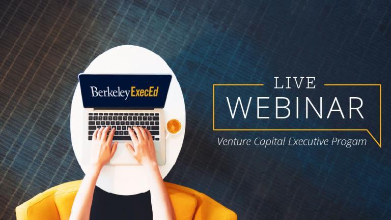 Venture Capital Executive webinar promo