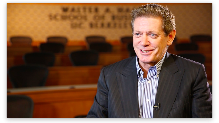 Peter Wilton in an interview
