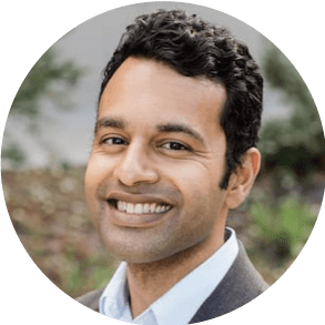 headshot of Vivek Rao